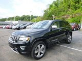 2014 Brilliant Black Crystal Pearl Jeep Grand Cherokee Overland 4x4 #93793175