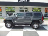 2009 Graphite Metallic Hummer H3  #93793160