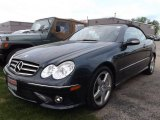 2007 Black Opal Metallic Mercedes-Benz CLK 550 Cabriolet #93837097