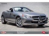 2014 Paladium Silver Metallic Mercedes-Benz SLK 250 Roadster #93836954