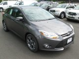 2014 Sterling Gray Ford Focus SE Hatchback #93837195
