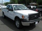 2014 Oxford White Ford F150 XL SuperCab 4x4 #93837193