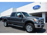 2015 Magnetic Ford F250 Super Duty Lariat Crew Cab 4x4 #93859727