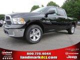 2014 Black Ram 1500 Big Horn Crew Cab 4x4 #93869856