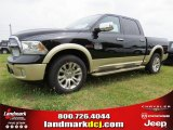 2014 Black Ram 1500 Laramie Longhorn Crew Cab 4x4 #93869854