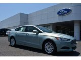 2014 Ice Storm Ford Fusion Hybrid SE #93869882