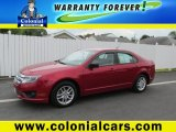 2011 Red Candy Metallic Ford Fusion S #93870109