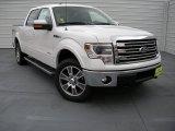 2014 White Platinum Ford F150 Lariat SuperCrew 4x4 #93869935
