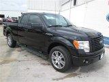 2014 Tuxedo Black Ford F150 STX SuperCab #93869768