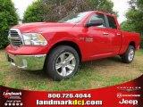 2014 Flame Red Ram 1500 SLT Quad Cab #93869863