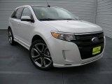 2014 White Platinum Ford Edge Sport #93869931