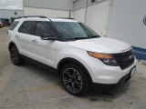 2014 White Platinum Ford Explorer Sport 4WD #93869764