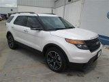 2014 White Platinum Ford Explorer Sport 4WD #93869764