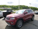 2014 Deep Cherry Red Crystal Pearl Jeep Grand Cherokee Limited 4x4 #93869990
