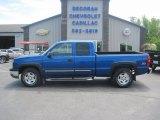 2004 Arrival Blue Metallic Chevrolet Silverado 1500 Z71 Extended Cab 4x4 #93896859