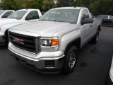 2014 Quicksilver Metallic GMC Sierra 1500 Regular Cab 4x4 #93896679
