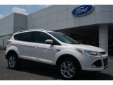 2014 White Platinum Ford Escape Titanium 2.0L EcoBoost #93896496