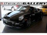 2008 Black Porsche 911 Turbo Cabriolet #924630