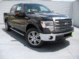 2014 Tuxedo Black Ford F150 Lariat SuperCrew 4x4 #93896596