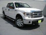 2014 Oxford White Ford F150 XLT SuperCrew 4x4 #93896594