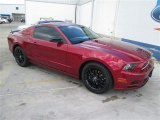 2014 Ruby Red Ford Mustang V6 Coupe #93896333