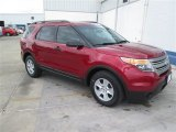2014 Ruby Red Ford Explorer FWD #93896330
