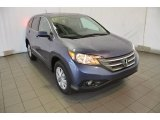 2014 Twilight Blue Metallic Honda CR-V EX #93896264