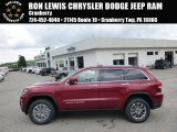 2014 Deep Cherry Red Crystal Pearl Jeep Grand Cherokee Limited 4x4 #93896384