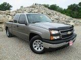 2006 Graystone Metallic Chevrolet Silverado 1500 LS Extended Cab #93896789