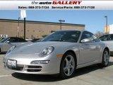2007 GT Silver Metallic Porsche 911 Carrera Coupe #924621