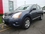 2013 Graphite Blue Nissan Rogue S AWD #93896628