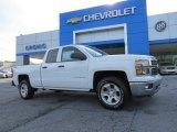 2014 Summit White Chevrolet Silverado 1500 LT Double Cab #93932190