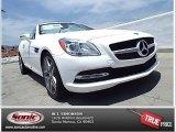 2014 Polar White Mercedes-Benz SLK 250 Roadster #93931993