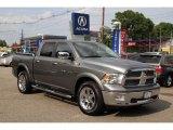 2012 Mineral Gray Metallic Dodge Ram 1500 Laramie Crew Cab 4x4 #93931899