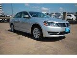 2014 Reflex Silver Metallic Volkswagen Passat 1.8T Wolfsburg Edition #93932376