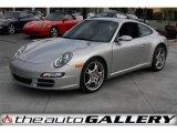 2007 Arctic Silver Metallic Porsche 911 Carrera S Coupe #924606