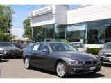 2014 Mineral Grey Metallic BMW 3 Series 328i xDrive Sedan #93931892