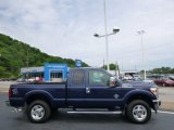 2012 Dark Blue Pearl Metallic Ford F250 Super Duty XLT SuperCab 4x4 #93931974