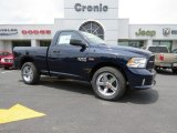 2014 True Blue Pearl Coat Ram 1500 Express Regular Cab #93932075