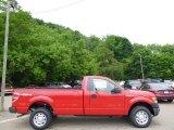2014 Vermillion Red Ford F150 XL Regular Cab 4x4 #93931966