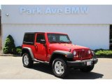 2011 Flame Red Jeep Wrangler Sport 4x4 #93931884