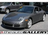 2007 Slate Grey Metallic Porsche 911 Carrera Coupe #924603