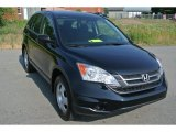 2011 Crystal Black Pearl Honda CR-V LX 4WD #93932305