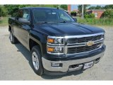 2014 Black Chevrolet Silverado 1500 LT Crew Cab 4x4 #93932303