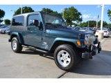2006 Jeep Wrangler Deep Beryl Green Pearl