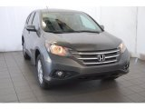 2014 Polished Metal Metallic Honda CR-V EX AWD #93931833