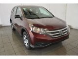 2014 Basque Red Pearl II Honda CR-V LX #93931832