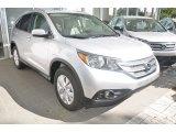 2014 Alabaster Silver Metallic Honda CR-V EX-L #93931829