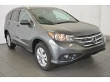 2014 Polished Metal Metallic Honda CR-V EX-L #93931826