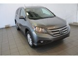 2014 Polished Metal Metallic Honda CR-V EX-L #93931825
